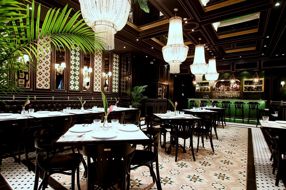 national kitchen by violet oon is a celebration of fine local flavours reflecting singapores colourful culinary heritage this restaurant is located on the
