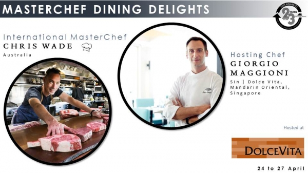 #Steakmaestro Gastronomy Dining Delights - Chris Wade