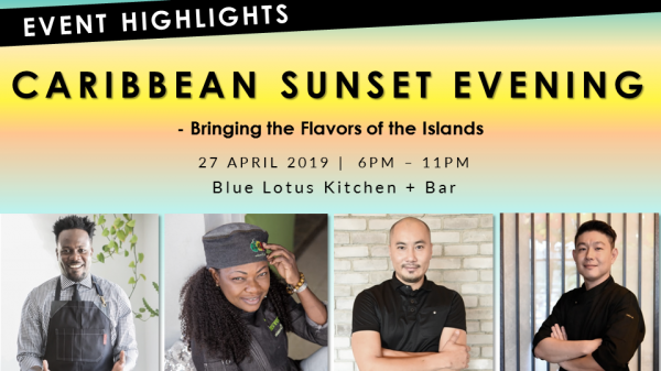 Caribbean Sunset Evening - Bringing the Flavors of the Islands